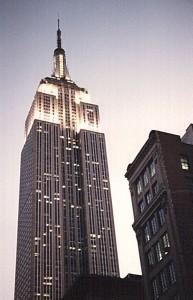 Das Empire State Building hat ein wunderbares Treppenhaus