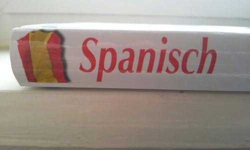 spansich lernen mit einem buch