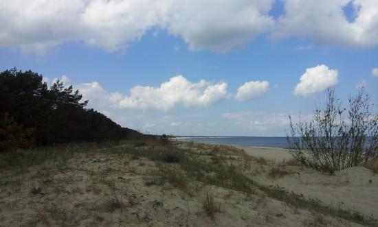 Usedom bietet eine Menge weißen Sandstrand