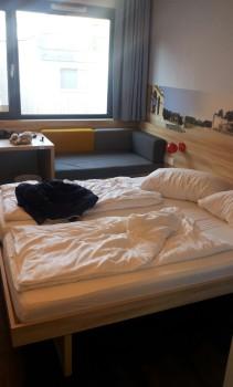 doppelzimmer im downtown franz hotel in wien
