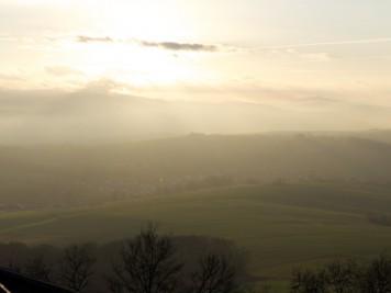 sonne, nebel und die veste otzberg