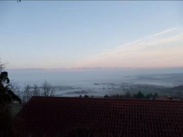 der otzberg im nebel