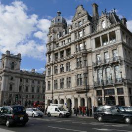 autoverkehr in london city