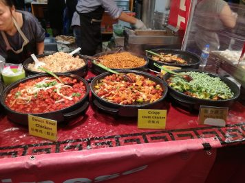 essen im Food market brick lane london