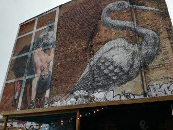 vogel streetart in london